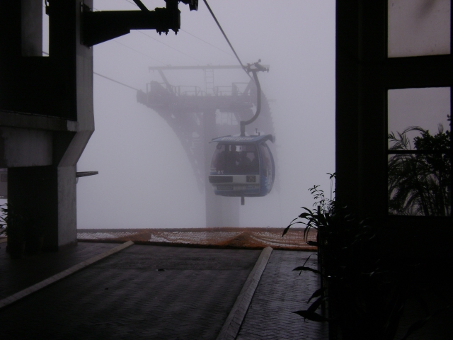 'mist'ic arrival at Genting